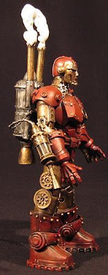 Steampunk iron man image