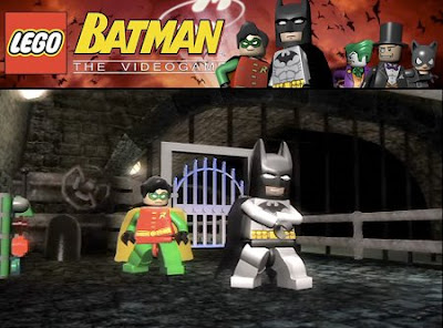 Lego Batman game trailor