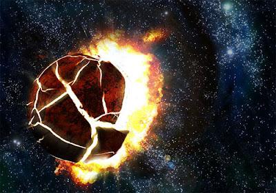 NASA- Exploding moon pics