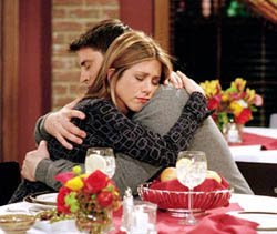 Four episode of friends