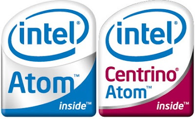 Intel centrino atom inside