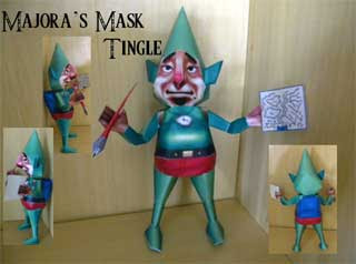 Majora's Mask Tingle Papercraft