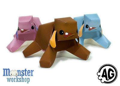 Tonk Paper Toy