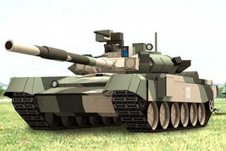 T90 Russian Main Battle Tank Papercraft