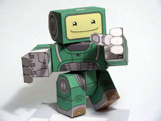 PocoBot Papercraft