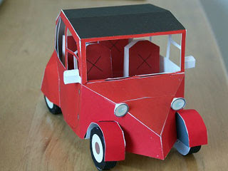 Laytonmobile Papercraft