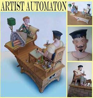 Amazing Papercraft Automata
