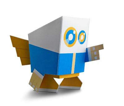 Mobi Paper Toy