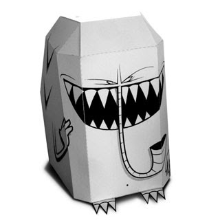 Slurg Monster Papercraft