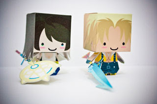 Final Fantasy X Papercraft