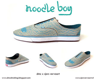 Vans Era Shoe Papercraft Noodle Boy