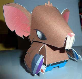 Tunnel Rat Papercraft