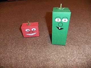 VeggieTales Papercraft