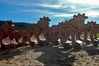 Trojan Horse Papercraft