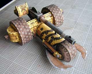 Howitza Trike Papercraft