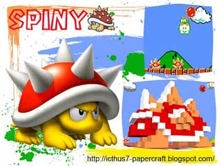Spiny Papercraft