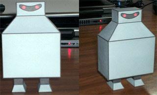 Boxy Robot Papercraft