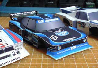 Ford Capri Papercraft