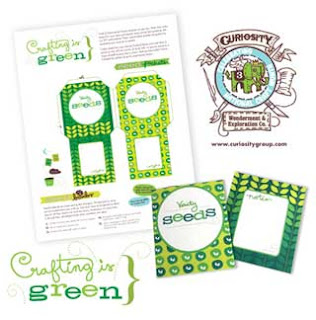 Seed Packet Papercraft