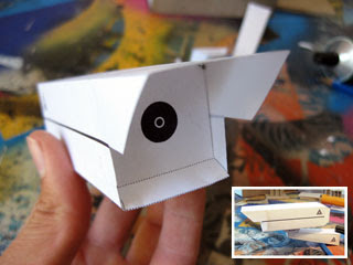 Security Camera Papercraft