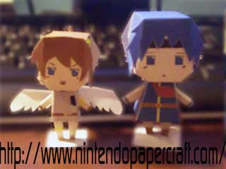 Kid Icarus Pit Papercraft