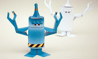 How to Make an Animated Paper Robot