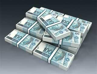 Brazilian Real Banknote Papercraft