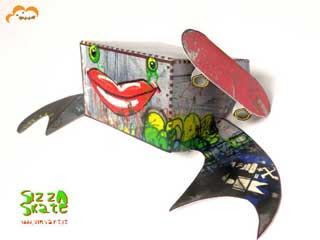 Sizza Skate Paper Toy