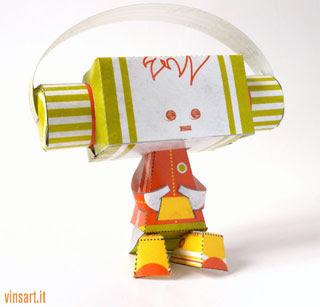 Giovannino Paper Toy