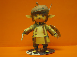 Lee So Cool's collection - Page 2 Final-fantasy-tarutaru-papercraft