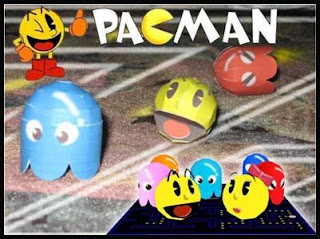 Pac-Man Papercraft