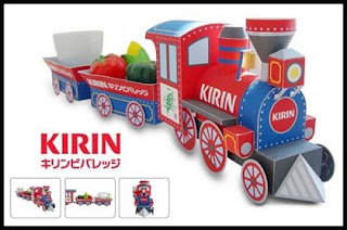 Kirin Fire Train Papercraft