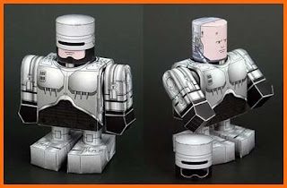 RoboCop Papercraft