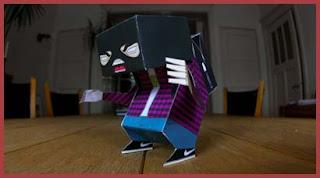 Paypraint Papercraft Toy