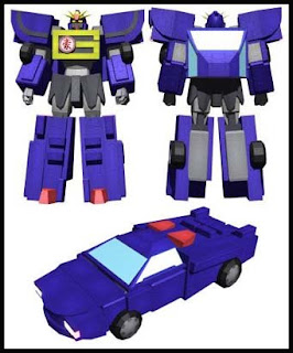 Transformers Robot Papercraft - Australia