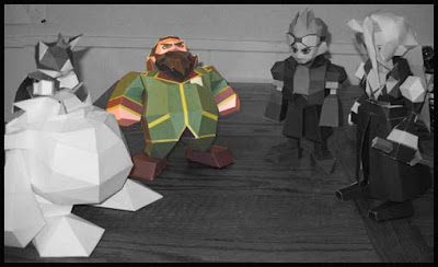 Final Fantasy VII Heidegger Papercraft