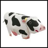 Papercraf Cow