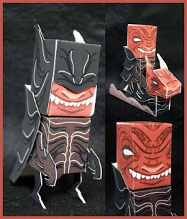 Dark Lord Papercraft
