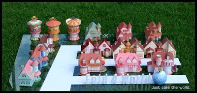 House Calendar Papercrafts