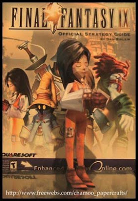 Final Fantasy IX Garnet Papercraft