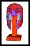 Magneto Helmet Papercraft