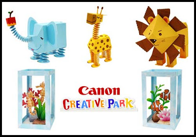Canon Papercraft Zoo & Aquarium