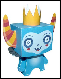 Sky Imp Papercraft
