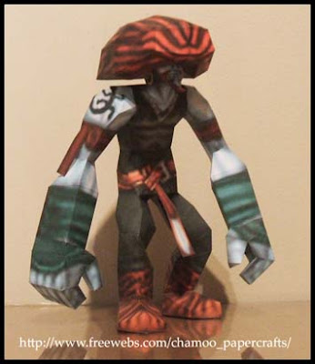 Final Fantasy IX Amarant Papercraft