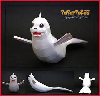 Pokemon Dewgong Papercraft