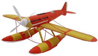 Macchi M.C. 72 Seaplane Papercraft
