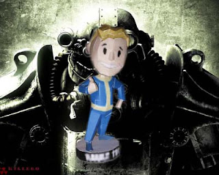 Fallout 3 Charisma Bobblehead Papercraft