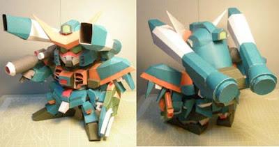 SD Calamity Gundam Papercraft
