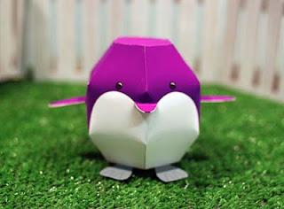 Zooguu Penguin Papercraft