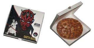 Darth Maul Pizza Papercraft